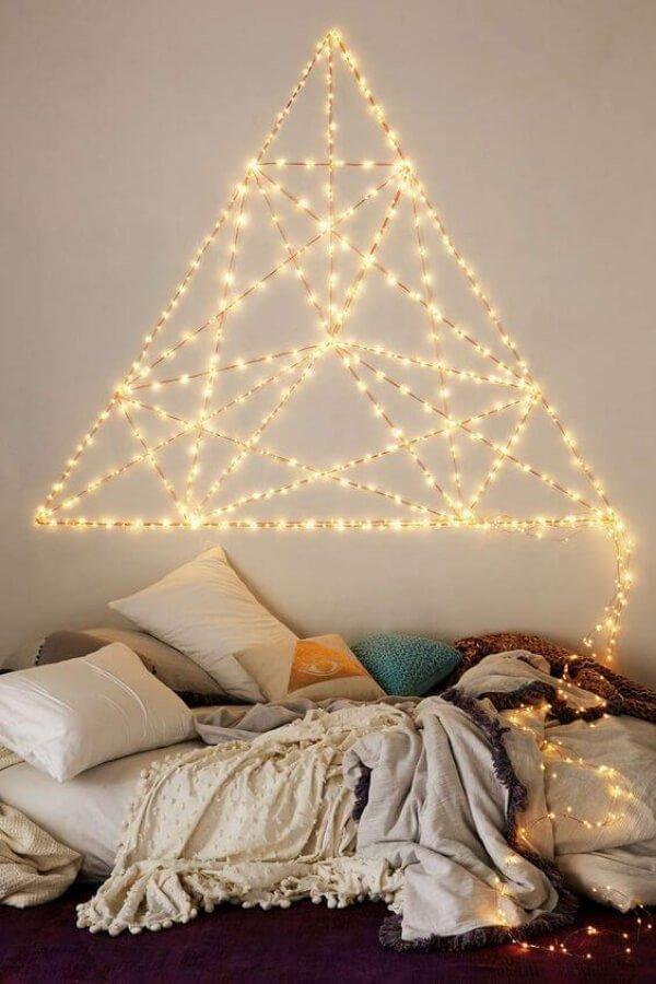 decorazione pareti con luci led