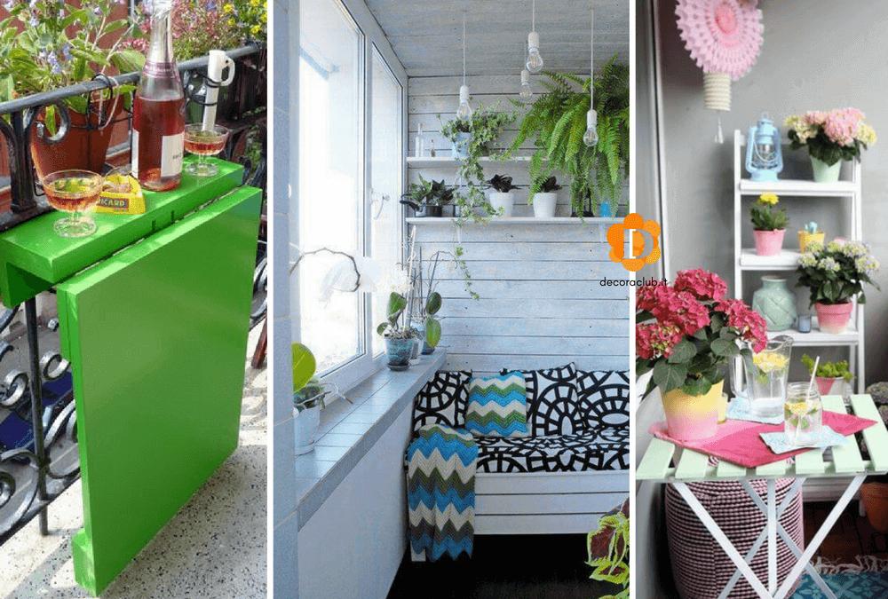 You are currently viewing 10 Idee per decorare e arredare un piccolo balcone