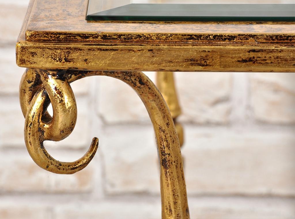 rinnovare mobili con foglia d'oro