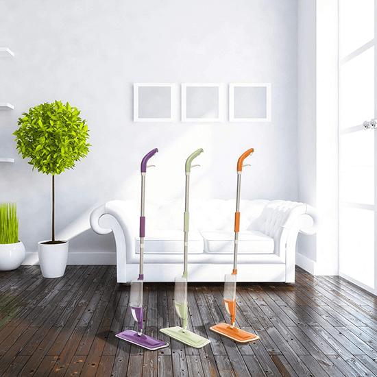 spray mop per pulire velocemente