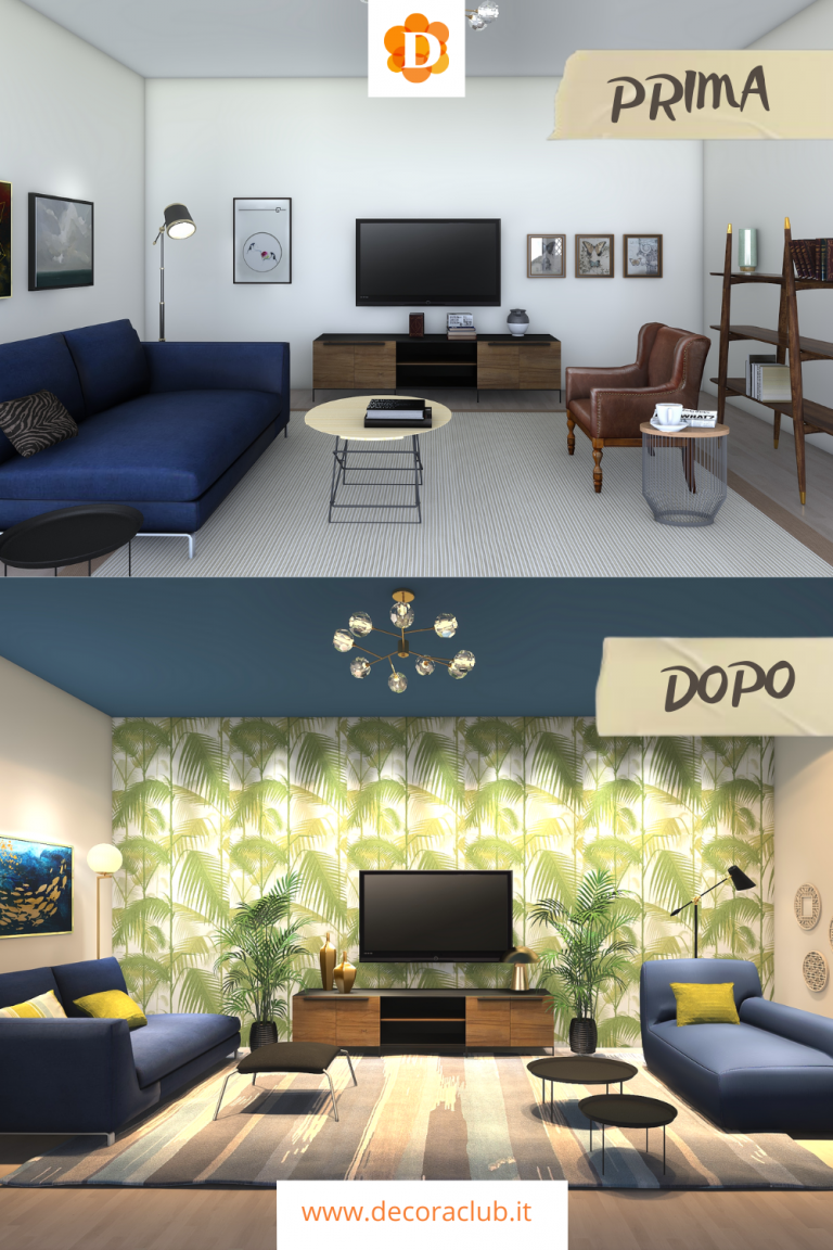 prima e dopo casa